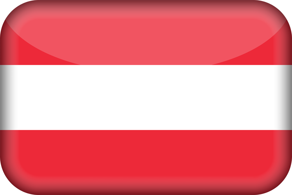 austria flag 3d medium