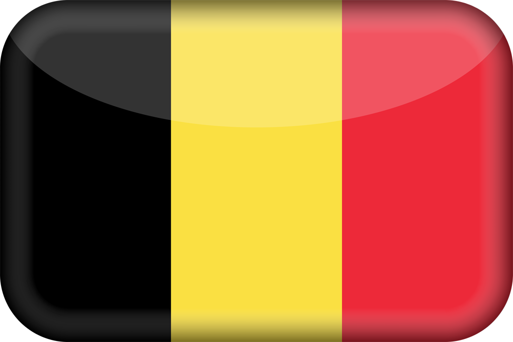 belgium flag 3d medium