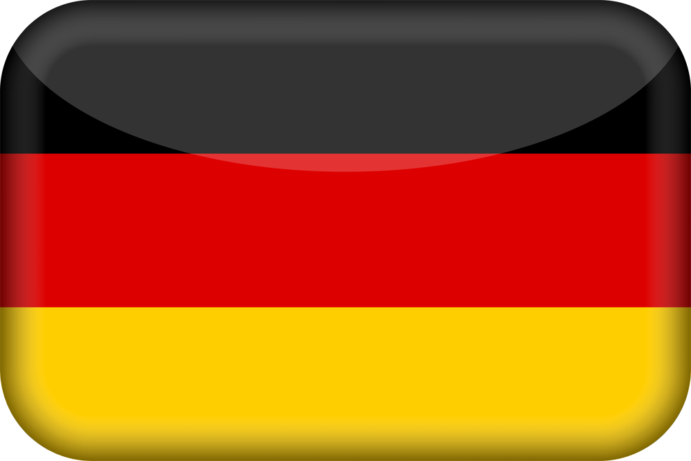 germany flag 3d medium