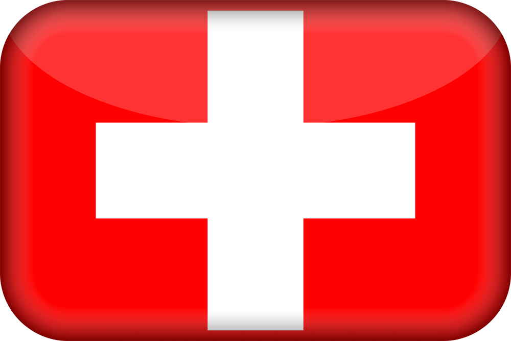 switzerland flag 3d medium